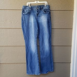 Maurices Curvy Bootcut Jeans Size 9/10